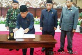 DPRD dan Pemprov akhirnya sepakati Perda APBD 2019
