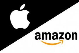 Saham Apple dan Amazon anjlok