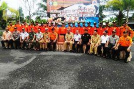 Tingkatkan kualitas, personil BPBD Lamandau latihan rescue dikirim ke Sampit