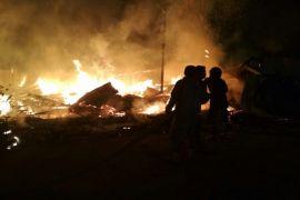 Satu malam, dua laporan kebakaran di Sampit