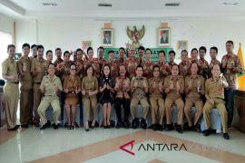 Kontingen Pesparawi Korpri Bartim menargetkan masuk peringkat 10 besar