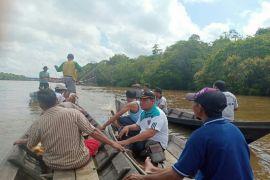 Jatuh dari kapal, tukang las tenggelam di Sungai Mentaya
