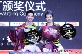 Minions berhasil juara China Terbuka 2018
