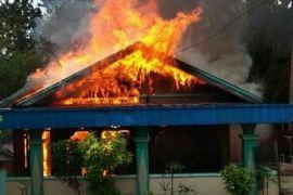 Rumah caleg PPP ludes terbakar di Bartim