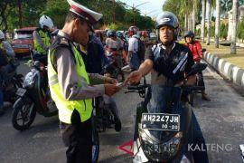 Pelanggar lalu lintas di Palangka Raya meningkat tajam