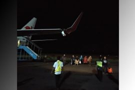 Mau terbang, pesawat Lion Air Bengkulu-Jakarta tabrak tiang