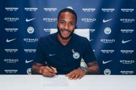 Sterling perpanjang kontrak dengan City hingga 3 tahun