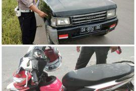 Berserempetan dengan mobil, penumpang motor wanita tewas di Kelurahan Jingah