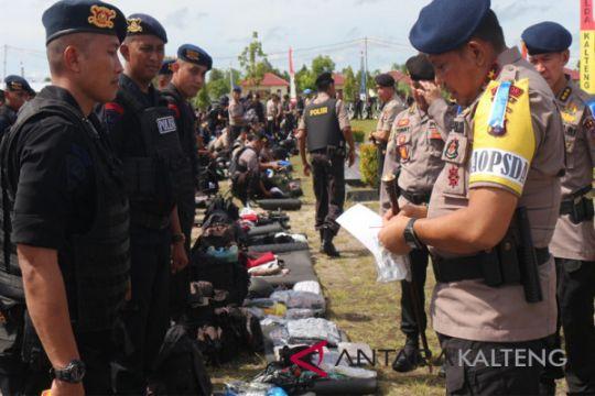 Seribuan personel Polda disebar bantu Polres amankan Pilkada