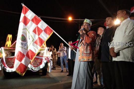 Ribuan warga Kota Palangka Raya antusias saksikan pawai Idul Adha