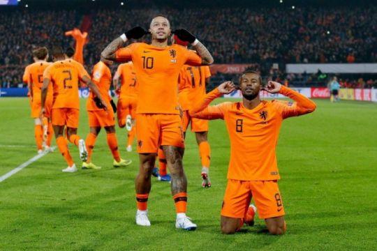 Belanda tundukkan juara dunia Prancis di Nations League