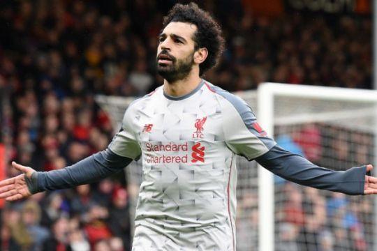 Mohamed Salah belum setingkat dengan Messi dan Ronaldo