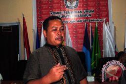 KPU Karimun tunggu instruksi verifikasi partai lama