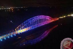 Lis Jadikan Jembatan Sei Carang Icon Pariwisata