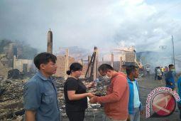 Rumah Anggota DPRD Lingga Ludes Terbakar