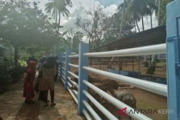 Ratusan warga padati Mini Zoo Kijang