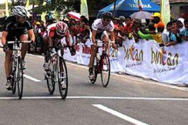 Pembalap Singapura Juara I Etape Pertama Tour de Bintan