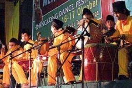 Festival Dangkong Dance HUT Kabupaten Karimun