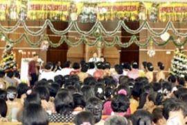 Jemaat HKBP Karimun Rayakan Natal