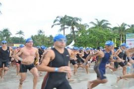 Peserta dari 49 negara ikuti Bintan Triathlon
