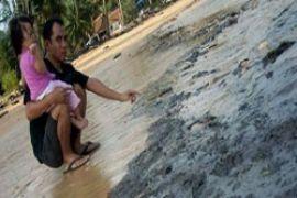 TNI AL awasi limbah minyak Bintan