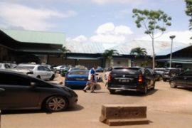 Parkir Pelabuhan Punggur semrawut