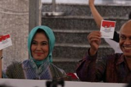 Dubes RI untuk Singapura Mencoblos/KBRI Singapura