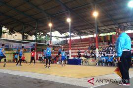 Danlantamal IV Tanjungpinang gelar Turnamen Voli