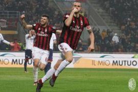 AC Milan kalahkan Crotone berkat gol Bonucci