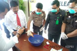 Polres Karimun musnahkan 651,74 gram sabu-sabu