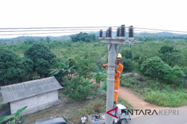 Warga Pulau Mantang nikmati listrik akhir 2018