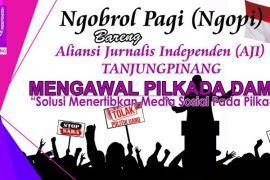 AJI gelar diskusi pilkada bareng Cawako Tanjungpinang