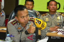 Polisi perketat pengamanan pintu keluar masuk Tanjungpinang