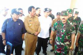 Panglima TNI tinjau fasilitas militer di Natuna