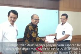 (Video BP Batam) BP Batam serahkan laporan keuangan ke BPKRI