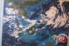 Siklon tropis Prapiroon tidak berdampak pada Indonesia