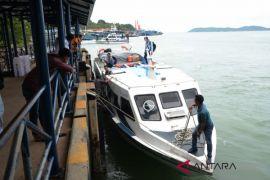 Arus balik kapal cepat Tanjungpinang-Batam mulai padat