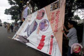 Bawaslu Tanjungpinang sita 25 baliho kampanye