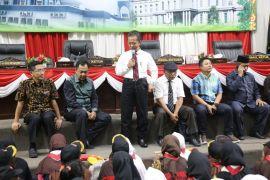 Kunjungan 360 Pramuka ke DPRD Kepri