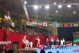 Indonesia raih medali emas nomor poomsae