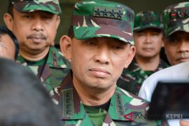 TNI AU bangun shelter di Kota Batam