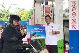Pertamina siapkan 240 liter bensin gratis