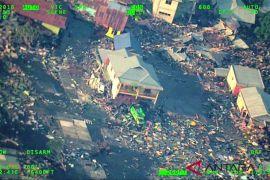 Kota Palu pascagempa dilihat dari udara