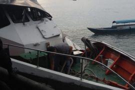 Kapal Anambas-Tanjungpinang bersenggolan dengan tangker