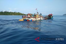 KM Sempurna Indah III tenggelam di Perairan Telaga