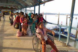 153 TKI Bermasalah dari Malaysia tiba di Tanjungpinang