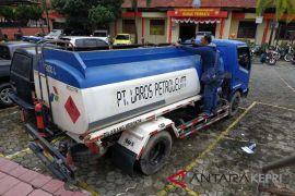 Polisi amankan lori pengangkut 4 ton biosolar