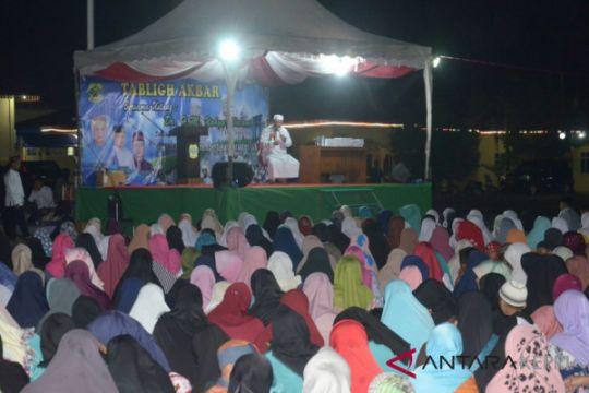Peringatan menyambut Isra Mi'raj di Lingga