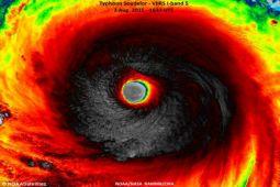 Siklon Dahlia Bergerak ke Wilayah Lampung