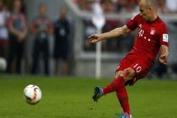 Tanpa Diperkuat Robben, Bayern Menang Tipis